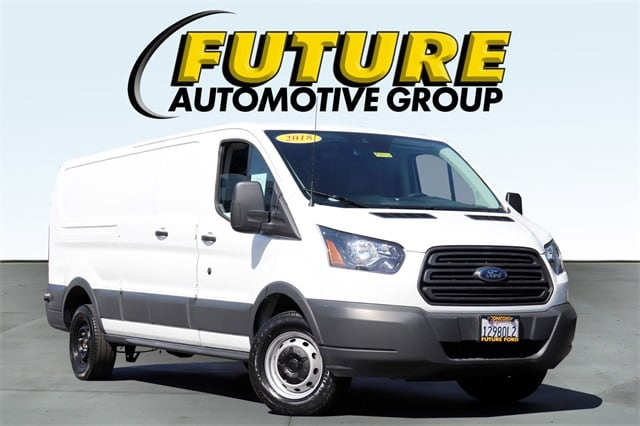 Pre-Owned 2018 Ford Transit-250 Base w/60/40 Pass-Side Cargo Doors