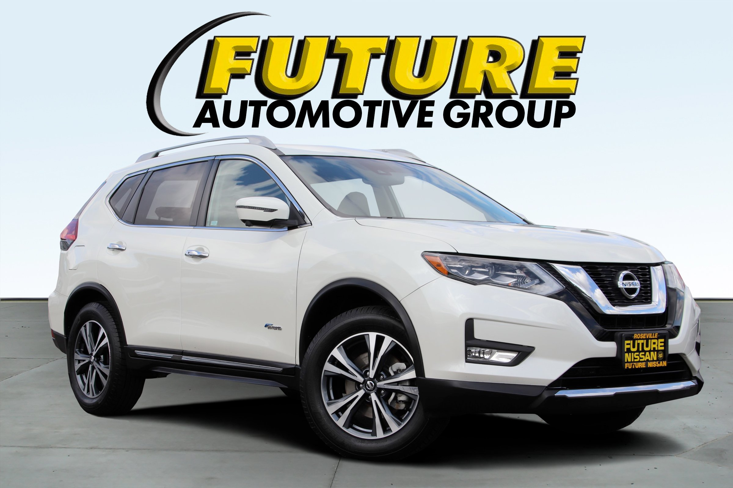 Certified Pre-Owned 2017 Nissan Rogue SL Hybrid