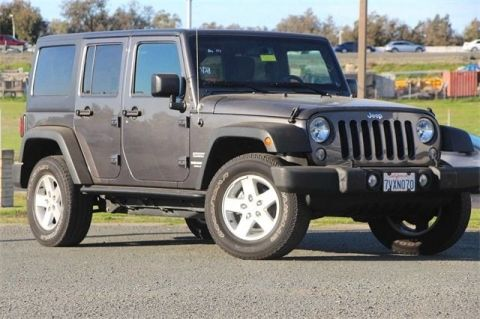 Pre-Owned 2017 Jeep Wrangler JK Unlimited Sport 4x4