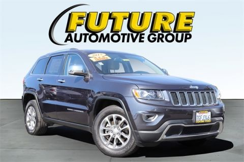 Pre-Owned 2015 Jeep Grand Cherokee Limited 4x4