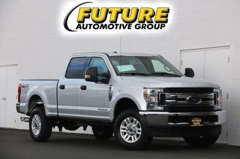 Pre-Owned 2018 Ford Super Duty F-250 SRW XLT 4WD Crew Cab 6.75 Box