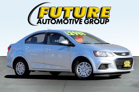 Pre-Owned 2017 Chevrolet Sonic LS