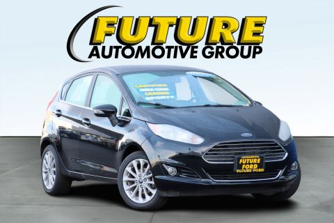 Certified Pre-Owned 2017 Ford Fiesta Titanium